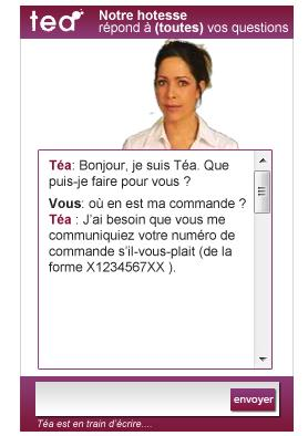 Téa Livechat